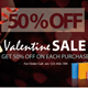 Valentine Sale Flyer