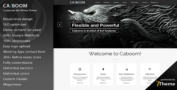 Caboom - Multipurpose Business WordPress Theme