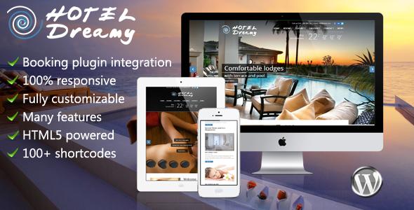 Dreamy - Hotel WordPress Theme