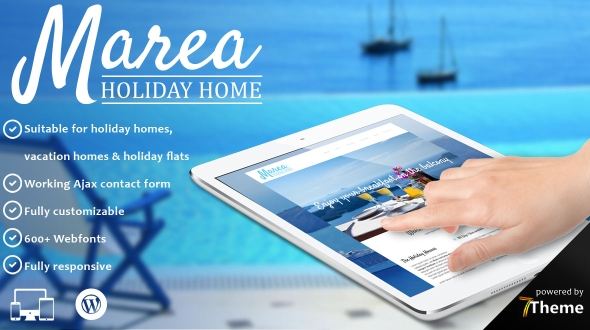 Marea - Holiday House WordPress Theme