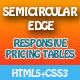 Semicircular Edge Pricing Tables
