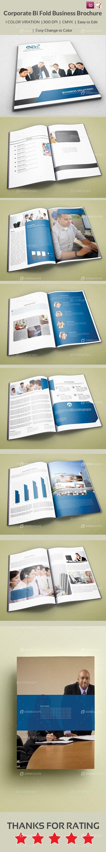 Corporate Bi Fold Business Brochure