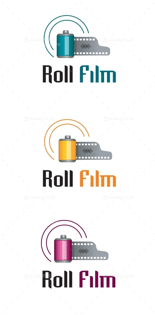 Roll Film Logo
