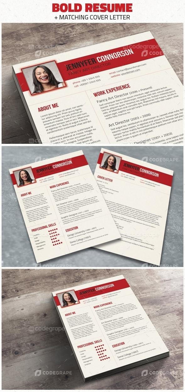 Bold Resume & Cover Letter