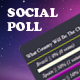 Multiple Social AJAX Poll