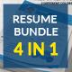 Resume Bundle 4 in 1
