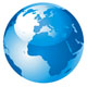 Blue Earth Globe Design