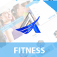 Fitness - One Page Responsive Template