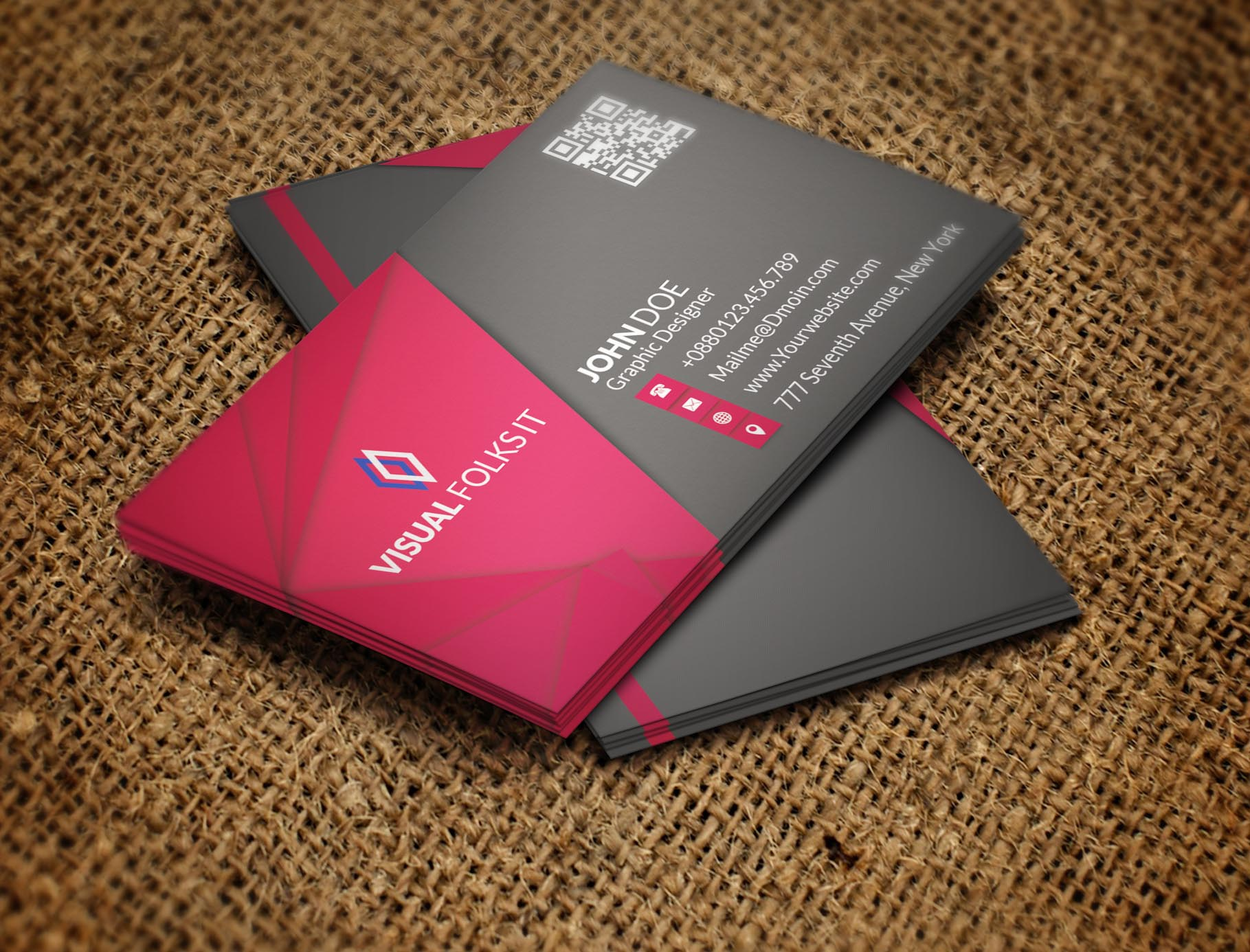 Bold & Elegent Business card