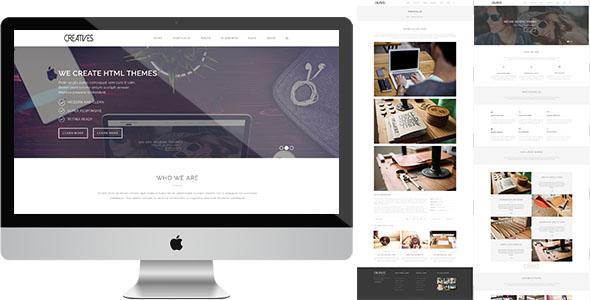Sevens Creatives HTML Template