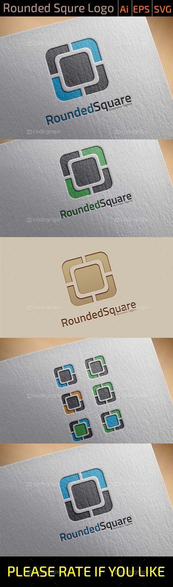 Rounded Rectangle Logo