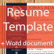 Resume Template 5 Colors