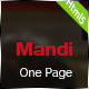 Mandi - One Page Responsive Template