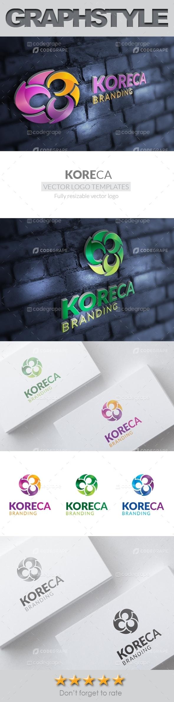Koreca_Logo Templates
