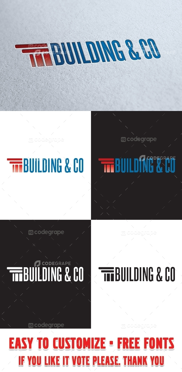 Building Logo Template