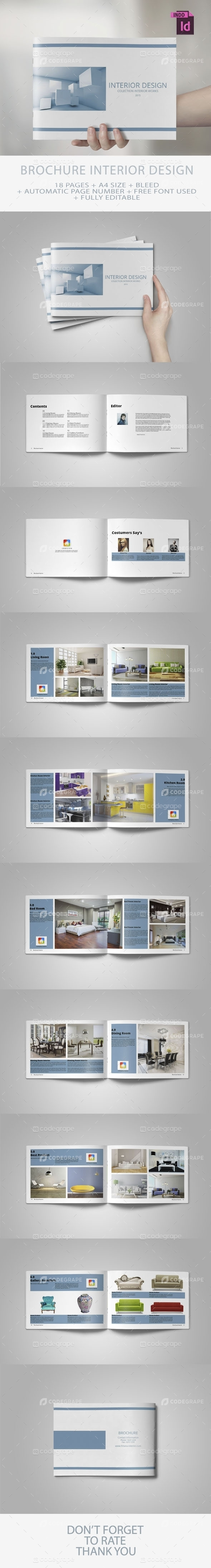 Brochure Interior Design