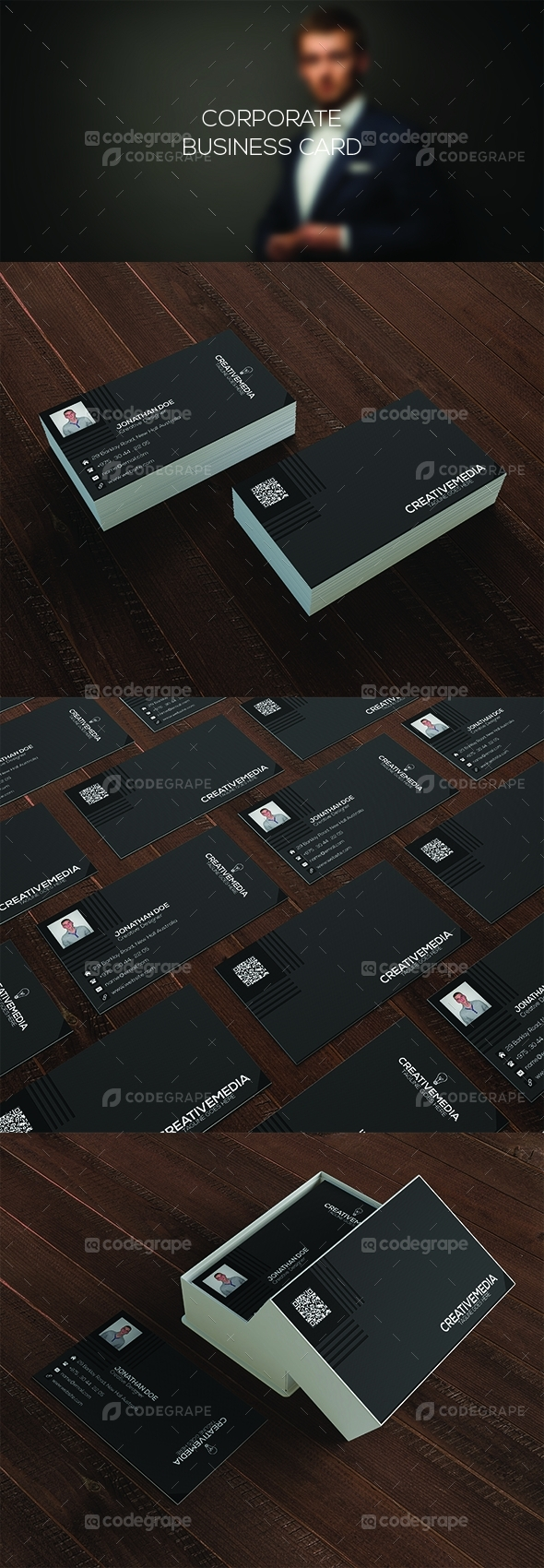 Corporate Business Card 2