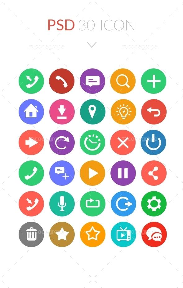 Psd 30 icon