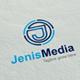 JenisMedia J Letter logo