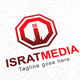 IsratMedia I Letter logo