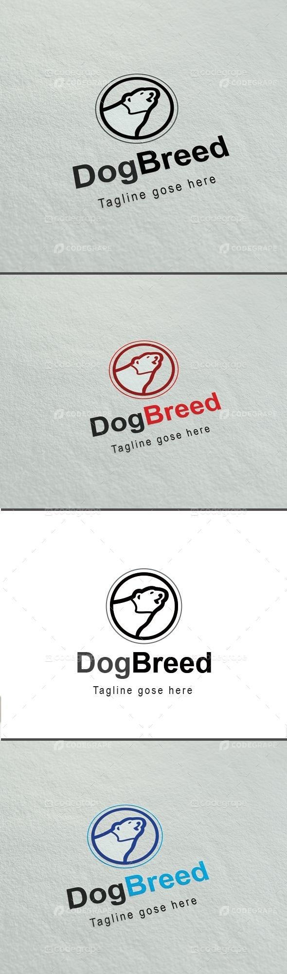 Dog Breed Business Logo