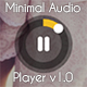 Minimal Audio Player Soundcloud