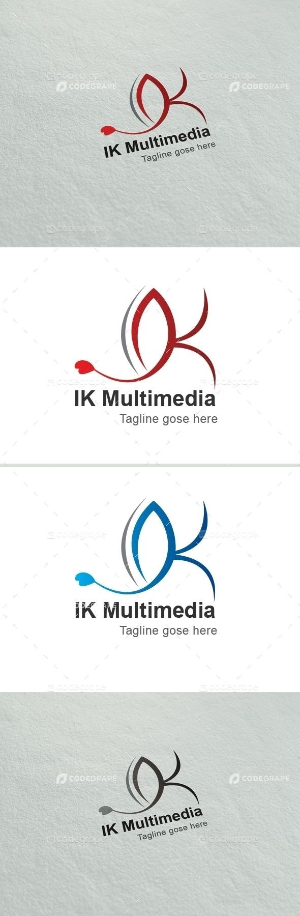IK Multimedia K Letter Logo
