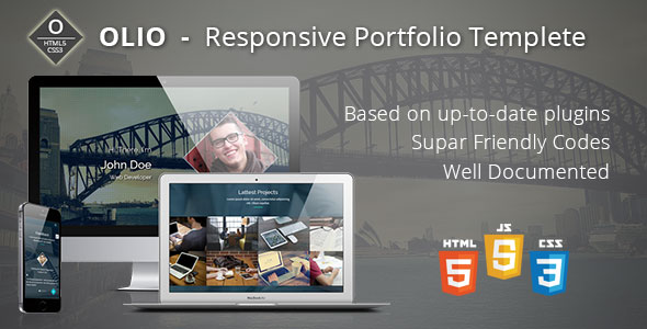 OLIO - Responsive Freelancer Portfolio Template