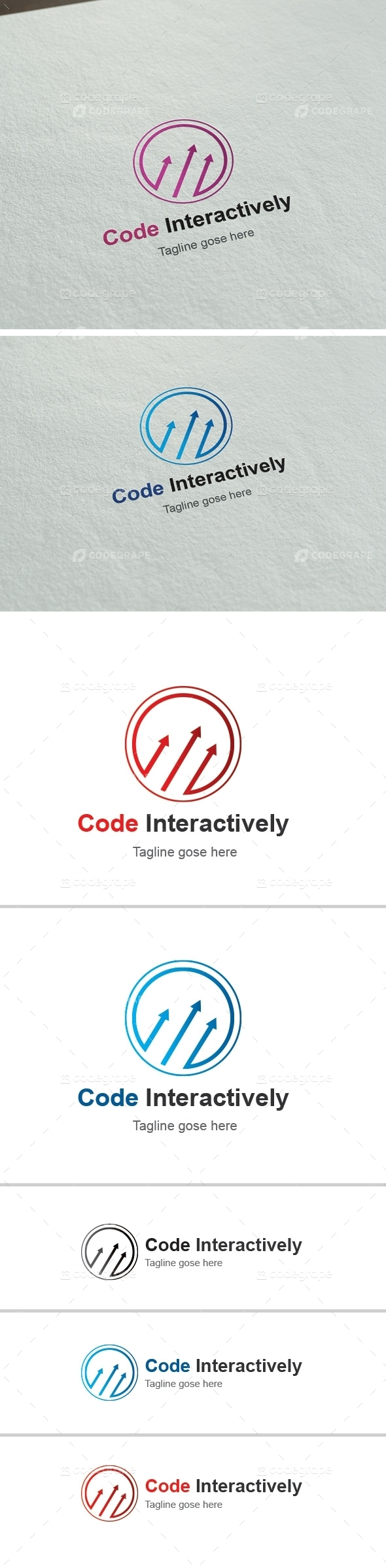 Code Interactively Business Logo