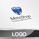 Moto Shop Logo Template