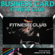 Business Card Fitness Club