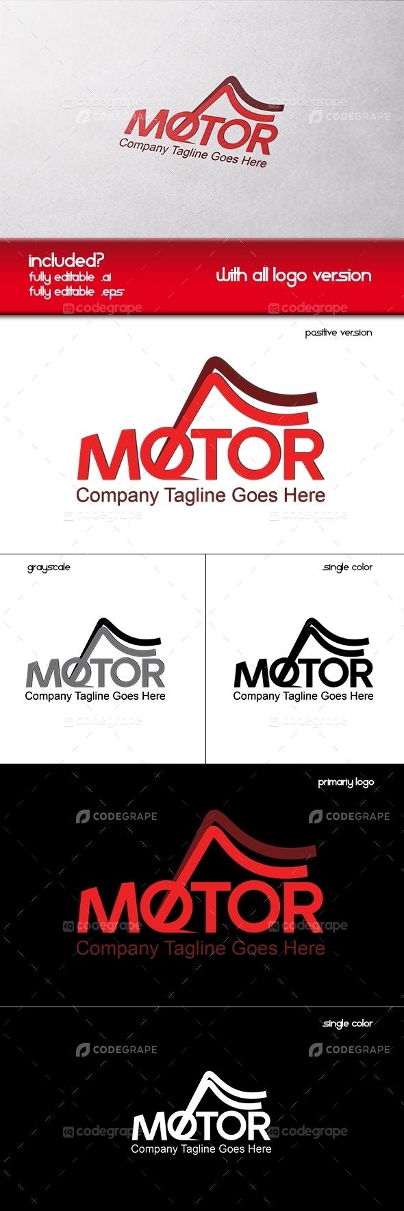 Motor Company Logo Template