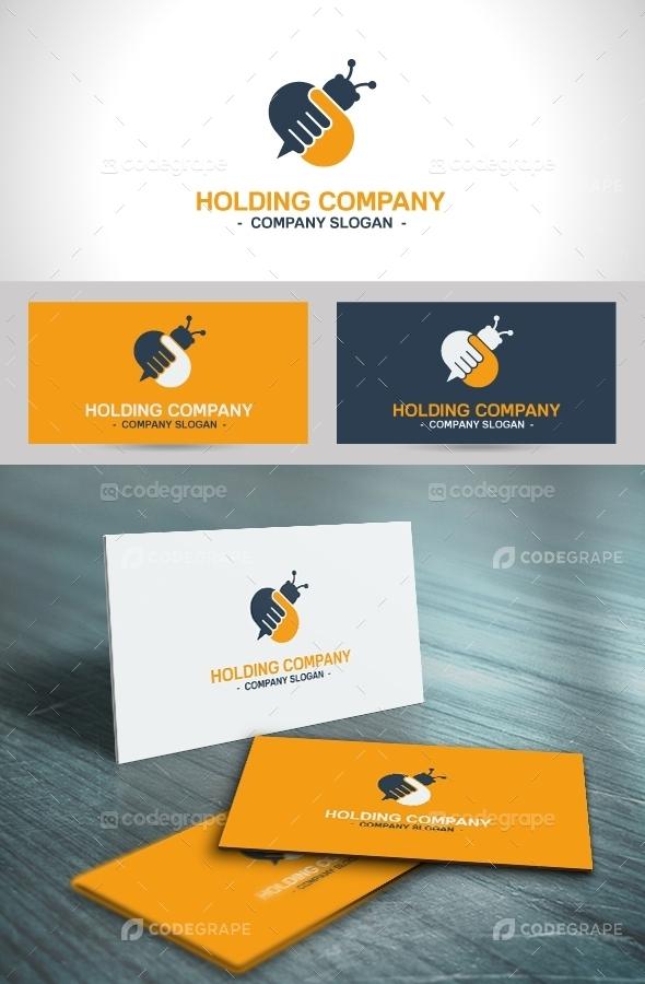Holding Company Logo Template