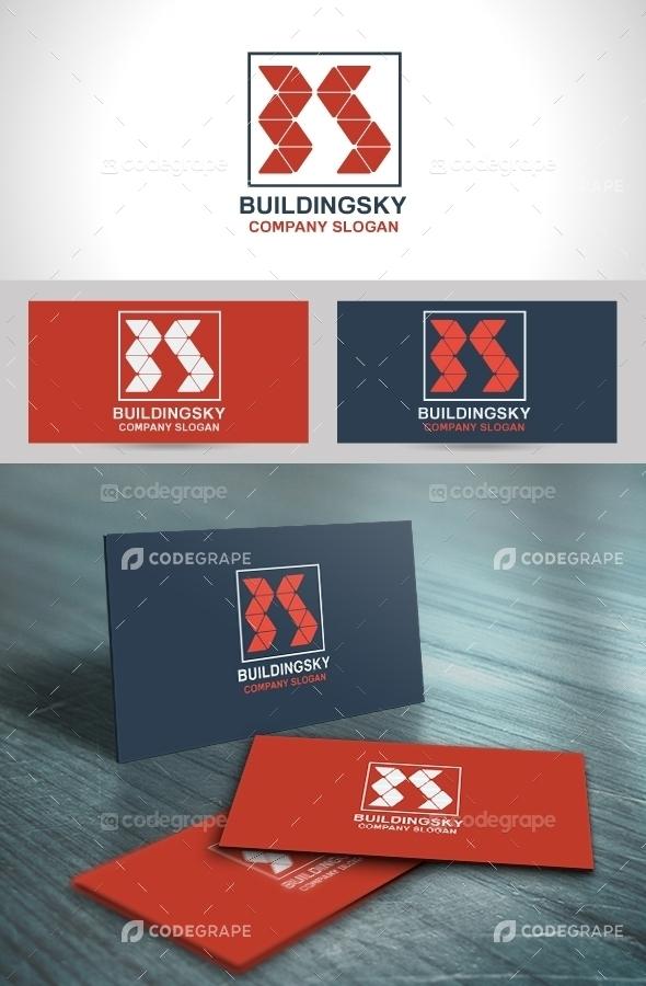 Building Sky Logo Template