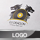 Dj Dragon Logo Template