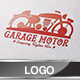 Garage Motor Logo Set