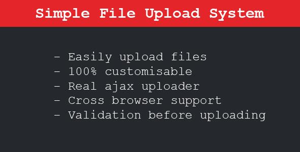 Simple File Upload System