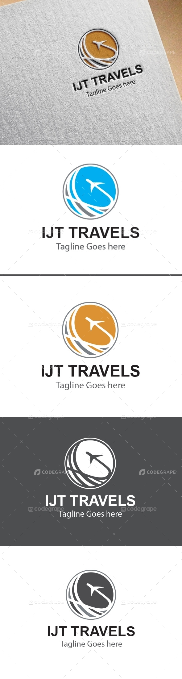 IJT Travels Logo