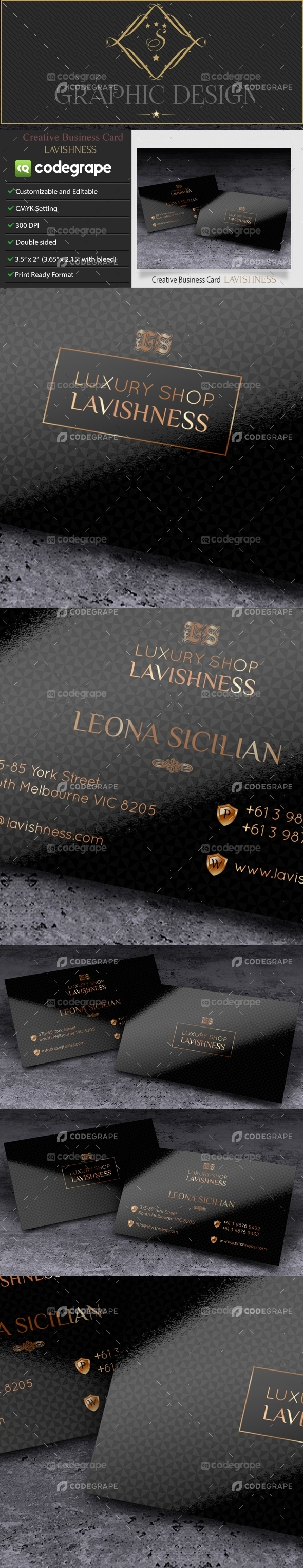 Creative Business Card Lavishness