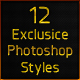 12 Exclusive Photoshop Styles