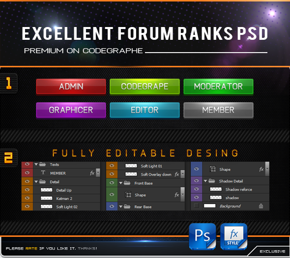 Excellent Forum Ranks