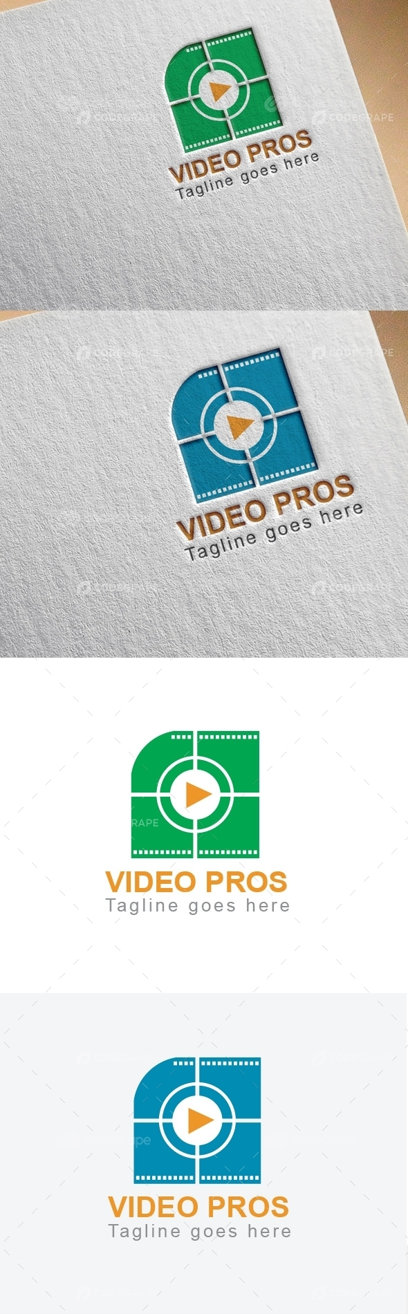 Vedio Prose Business Logo