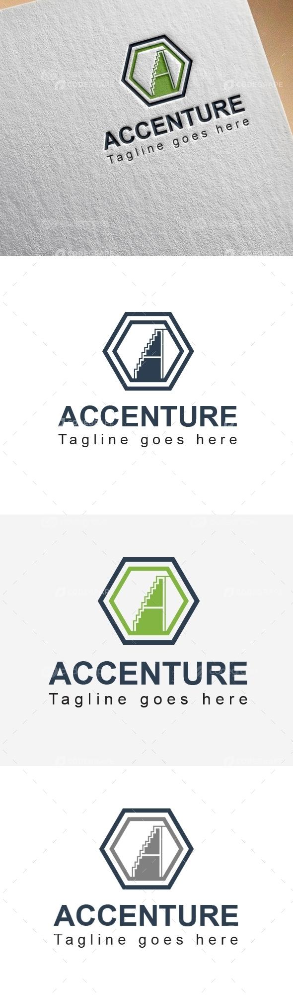 ACCENTURE A Letter Logo