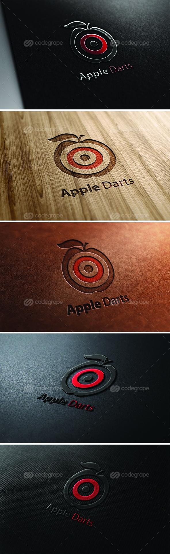 Apple Darts Logo