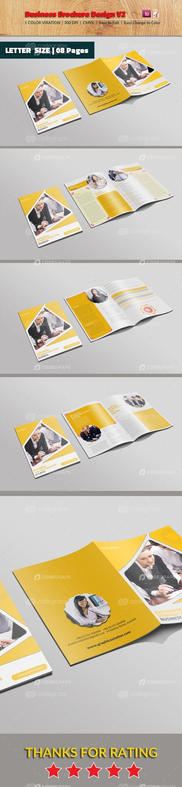 Business Brochure Design v2