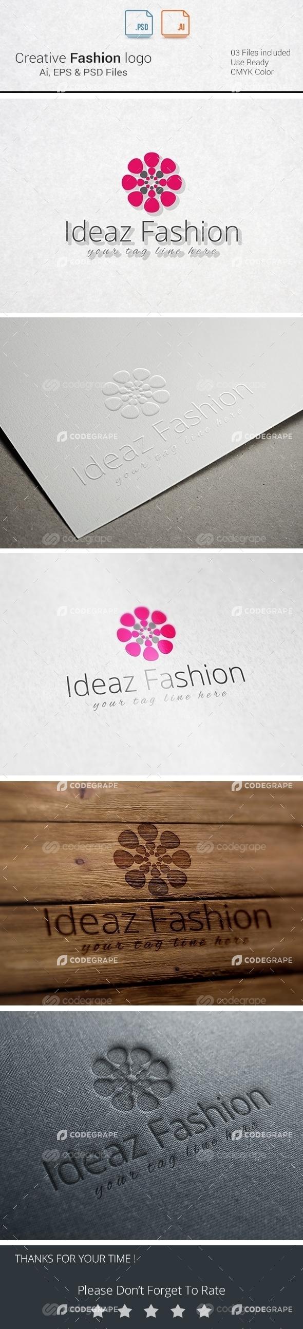 Creative Fashion Logo Design