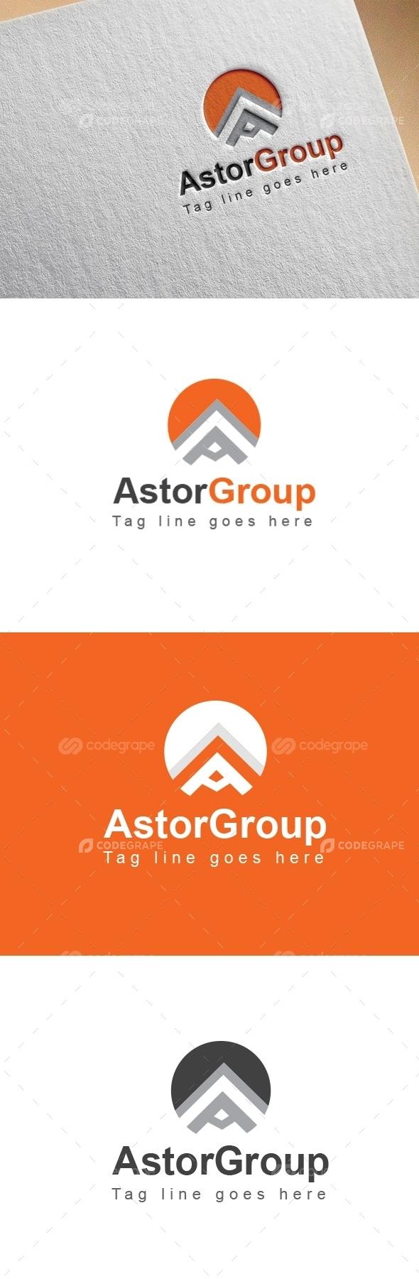 Astor Group A Letter Logo