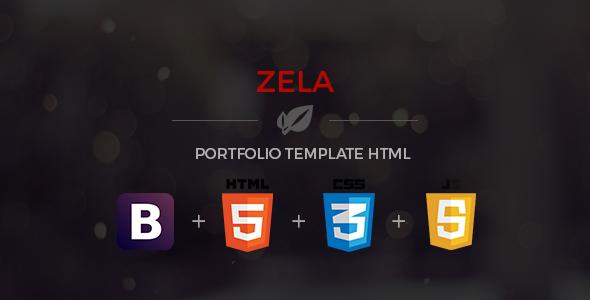 Zela - Portfolio Responsive HTML Template