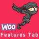 WOO Product Features Tab