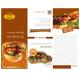 Burger Store Tri-Fold Brochure